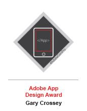 Adobe App Design Award - Gary Crossey