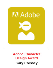 Adobe Character Design Award - Gary Crossey