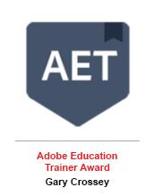 Adobe Education Trainer Award - Gary Crossey