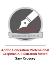Adobe Graphics & Illustration Award - Gary Crossey