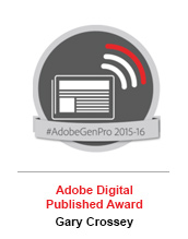 Adobe Digital Publishing Award - Gary Crossey
