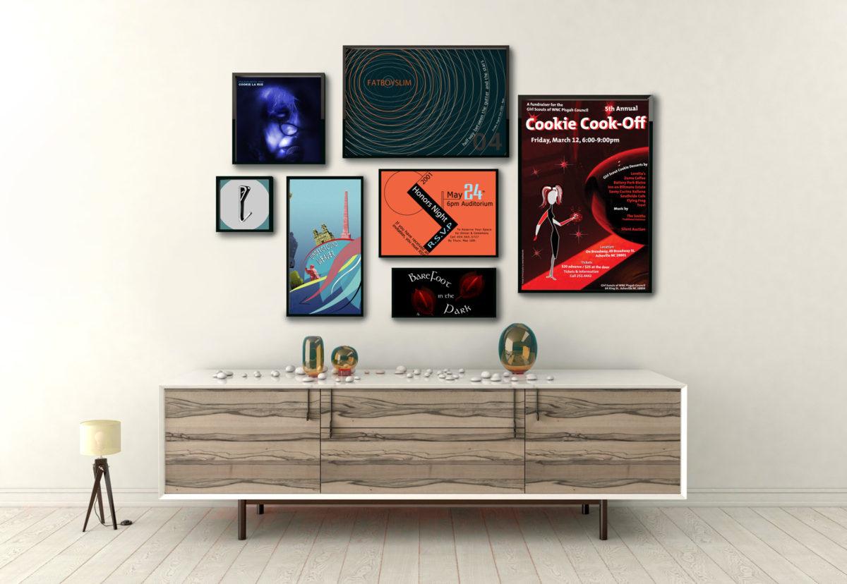 Poster Designs by Gary Crossey