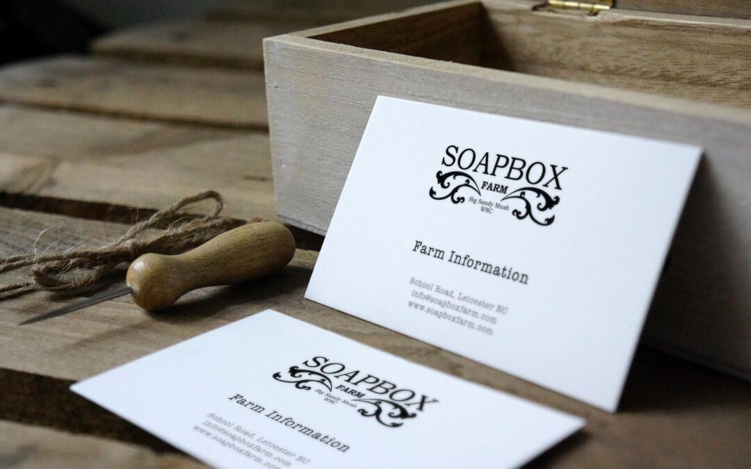 BRANDING Soapbox Farm