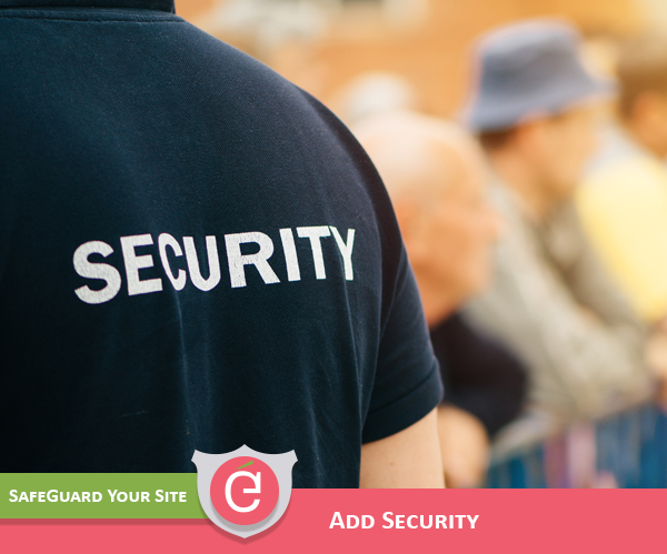 Web Design includes Security