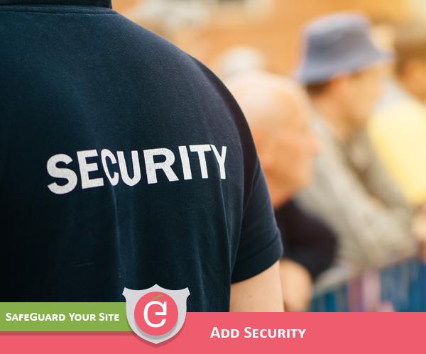 Web Design includes Security