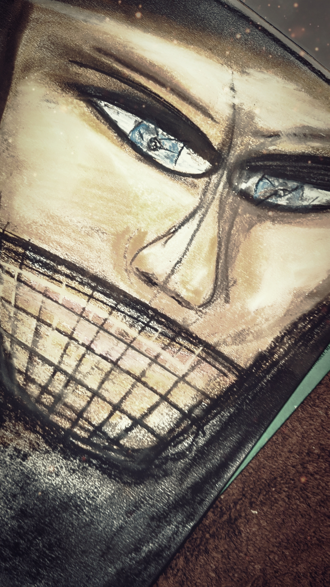 Artwork by Gary Crossey - Masked 2020