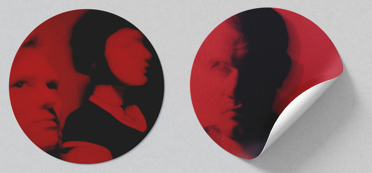 RED Sticker Installation