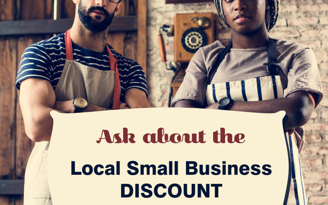 Local Small Business Discount