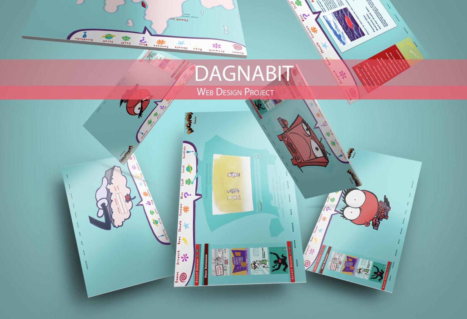 WEBSITE DESIGN: Animation Site