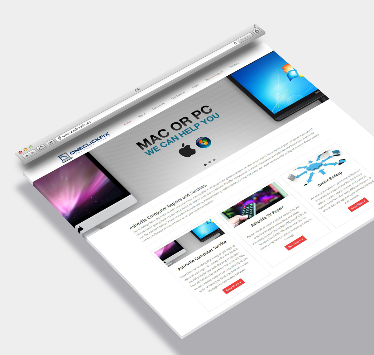 Asheville Website Designer